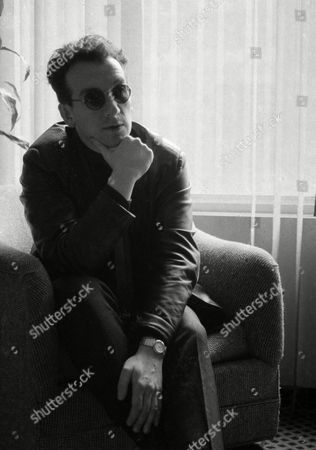 Stock Picture of Elvis Costello, Declan Patrick MacManus Singer/songwriter Elvis Costello is pictured in his hotel room in New York City