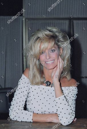 Farrah Fawcett-Majors, portraits-various moods and expressions with hair in and away from eyes, shown on