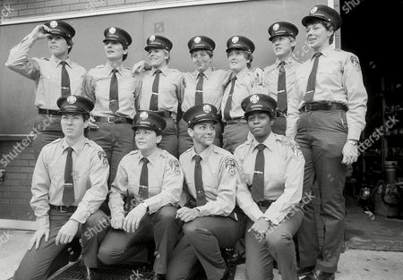 Zaida Gonzalez, Brenda Berkman, JoAnn Jacobs, Eileen F. Gregan, Catherine A. Riordan, Lorraine Cziko, Judith Murphy, Marianne McCormack, Janet M. Horan, Maureen T. Harnett, Patricia A Fitzpatrick The first class of women firefighters to graduate from the New York City Fire Department Academy pose for their class photo at the Randall Island academy, . The women, who graduated with 103 men, will become the first women ever to work in New York City's previously all-male fire department. Union officials from the Uniformed Firefighters Association attempted to obtain a court order to stay the women's graduation. The graduates are, top row from left: Eileen F. Gregan, Catherine A. Riordan, Lorraine Cziko, Judith Murphy, Marianne McCormack, Janet M. Horan and Maureen T. Harnett. Front row, from left: Brenda Berkman, Patricia A. Fitzpatrick, Zaida Gonzalez and JoAnn Jacobs