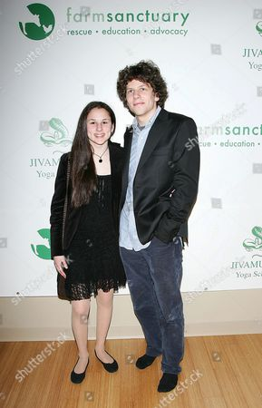 Hallie Kate Eisenberg and Jesse Eisenberg