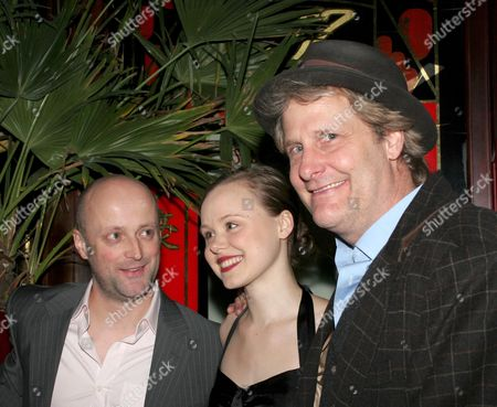 David Harrower, Alison Pill and Jeff Daniels