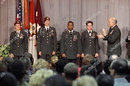 Editorial image of Gulf War 1991 U.S. Troops POW Medals, Washington, USA