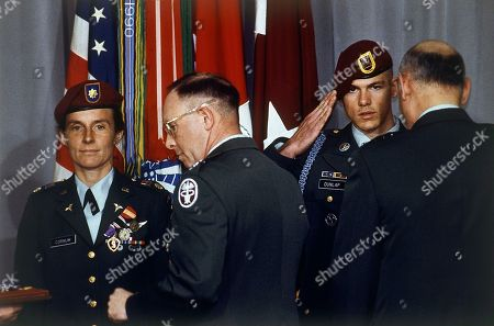 Editorial picture of Gulf War 1991 U.S. Troops POW Medals, Washington, USA