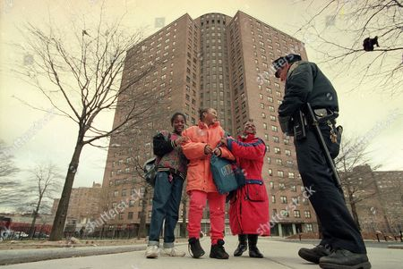 Editorial picture of HOUSING AUTHORITY POLICE, NEW YORK, USA