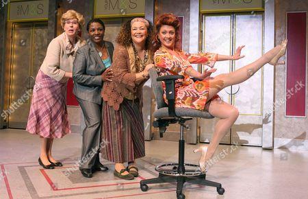 'Menopause: The Musical' - Su Pollard, Miquel Brown, Amanda Symonds and Samantha Hughes