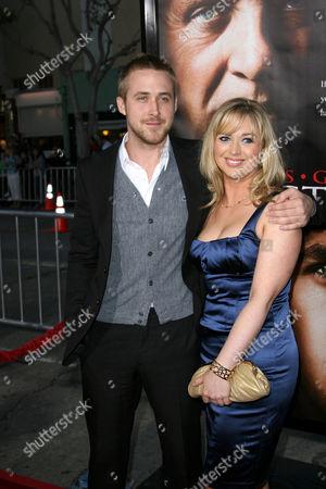 Stock Picture of Ryan Gosling and sister, Mandi Gosling