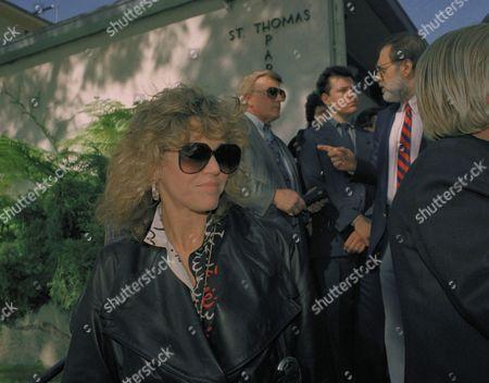 Editorial image of Jane Fonda, Los Angeles, USA