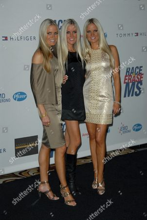 Erica Dahm (far right) and Sisters