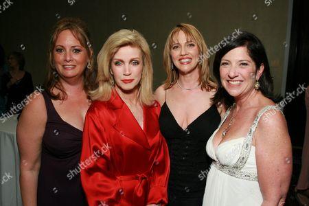 Shirley Lipstone, Donna Mills, Andrea Nelson & Teddy Gilderman