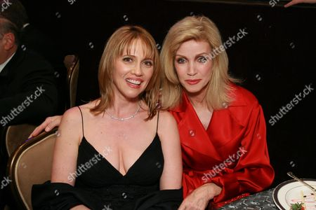 Stock Photo of Andrea Nelson and Donna Mills