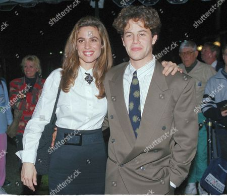 Actor Kirk Cameron with his wife actress Chelsea Noble in Los Angeles, California