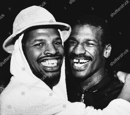 Leon Spinks, Michael Spinks Leon Spinks, left, hugs his brother Michael after he defeated Larry Holmes for the IBF world heavyweight championship in Las Vegas, . Leon is a former heavyweight champion who defeated Muhammad Ali