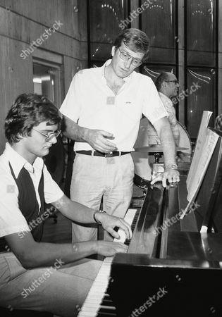 Editorial photo of Maxim Shostakovich, Chicago, USA