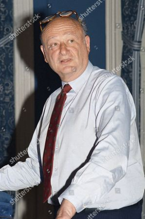 """New York Mayor Edward I. Koch speaks at a press conference at City Hall in New York, . Koch said that he was """"aghast"""" at the reported actions of Bess Myerson, his former culture commissioner, but said he did not plan to end their friendship"""