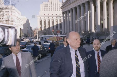 Editorial image of Mayor Edward Koch, New York, USA