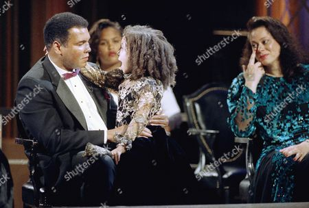 Editorial photo of Muhammad Ali 1992, Los Angeles, USA