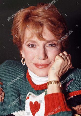Editorial photo of Nancy Dussault, New York, USA