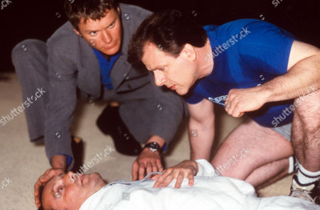 Benedict Taylor and Colin Stinton in 'The 10 Percenters' - 1993