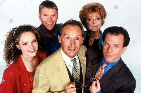 'The 10 Percenters' - 1993L-R Emma Cunniffe, Benedict Taylor, Clive Francis, Elizabeth Bennett and Colin Stinton