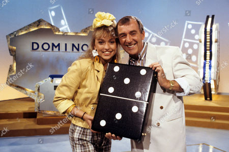 Michaela Strachan and Lennie Bennett in 'Doinoes' - 1988