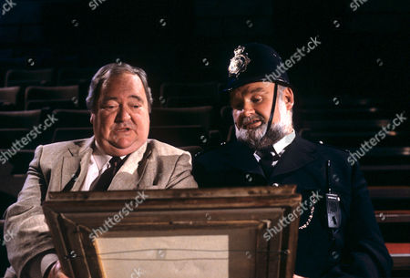 Stratford Johns (left) in 'Cue Gary' - 1987