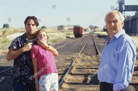 Con O'Neil and Vanessa Patterson with John Thaw in 'Morse' - 1991 Episode: 'The Promised Land'