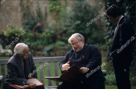 John Thaw, Richard Griffiths and Kevin Whately in 'Morse' - 1993 Episod: 'The Day of the Devil'