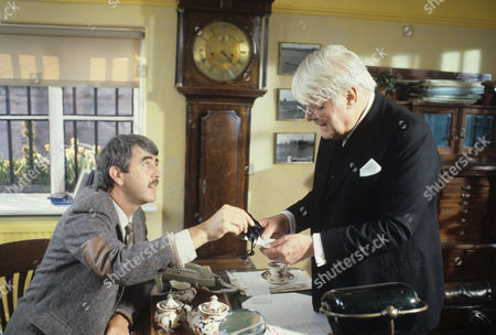John Alderton and Thorley Walters in 'Tales Of The Unexpected' - 1988 Episode: 'The Surgeon'