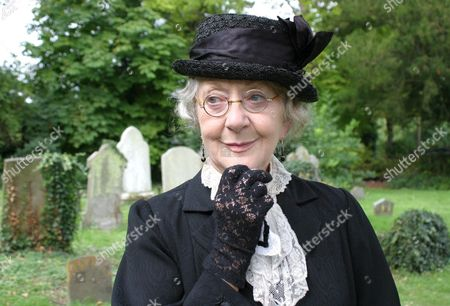 Stock Image of 'Marple' - 'The Moving Finger' - Thelma Barlow