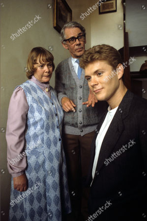 L-R Daphne Neville , Stephen Hancock and Benedict Taylor in 'Tales Of The Unexpected' - 1988 Episode: 'The Facts Of Life'