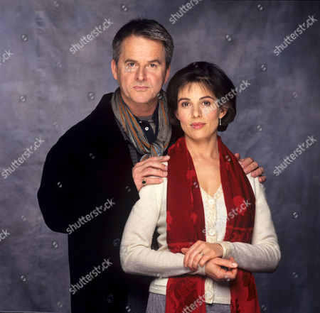 Stock Photo of Trevor Eve and Rosalind Bennett in 'An Evil Streak' - 1999