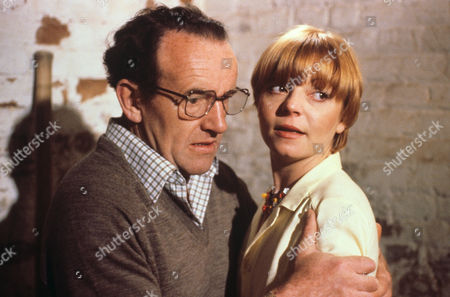 Colin Blakely and Cheryl Hall in 'Tales Of The Unexpected' - 1981 Episode: 'Never Speak Ill Of The Dead'