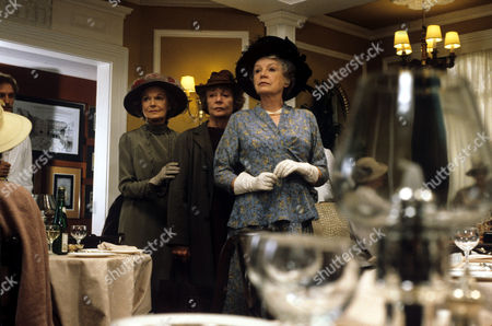 L-R Anna Neagle , Sheila Burrell and Phyllis Calvert in 'Tales Of The Unexpected' - 1983 Episode: 'The Tribute'