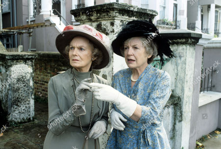Anna Neagle (left) and Phyllis Calvert in 'Tales Of The Unexpected' - 1983 Episode: 'The Tribute'