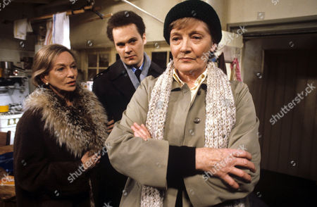 Rachel Kempson (right) with Joan Greenwood and Aaron Shirley in 'Tales Of The Unexpected' - 1981 Episode: 'Bosom Friends'