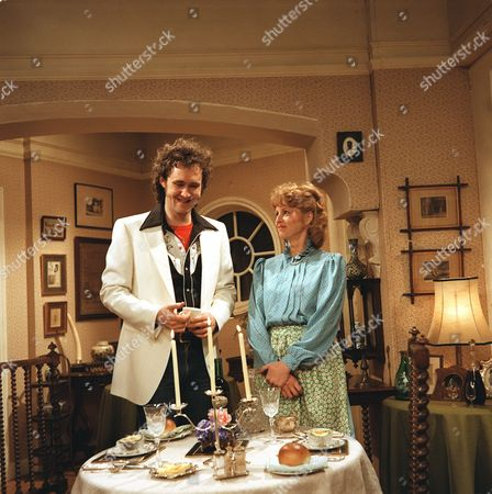 Liza Goddard and Nigel Planer in 'Roll Over Beethoven' - 1985