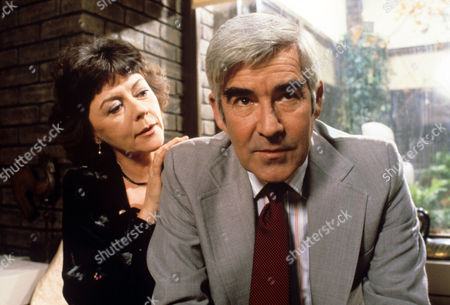 Stock Picture of Dorothy Tutin and Michael Craig  in 'Tales Of The Unexpected' - 1982 Episode: 'The Eavesdropper'