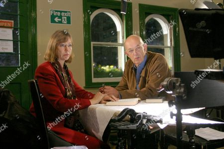 'The Train Set' 2005 - Roy Marsden, Jenny Agutter,  at Alresford Station on the Watercress Line, Nr Winchester