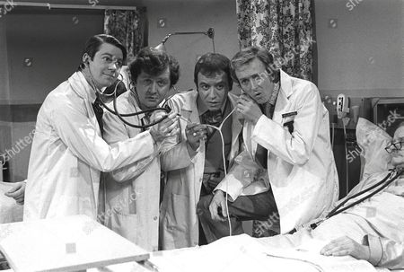 Stock Picture of 'Doctor on the Go'  1975/77 - Andrew Knox, John Kane, Robin Nedwell, Geoffrey Davies,