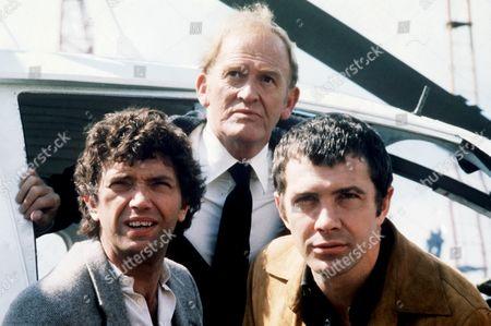 Stock Photo of 'The Professionals'  Martin Shaw, Gordon Jackson, Lewis Collins,