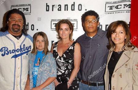 Miko Brando and family