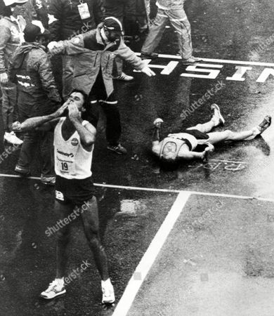 Editorial picture of NYC Marathon1983, NEW YORK, USA