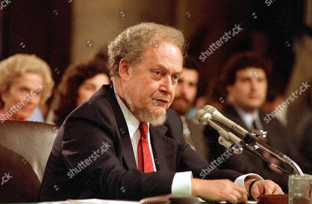 Bork U.S. Supreme Court nominee Robert H. Bork testifies before the Senate Judiciary Committee during his confirmation hearings on Capitol Hill. Robert Bork, whose failed Supreme Court nomination made history, has died