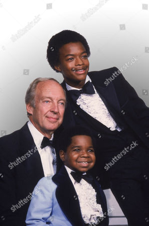 "Stock Picture of Coleman Bain Bridges Stars of the television show ""Different Strokes,"" clockwise from foreground, Gary Coleman, Conrad Bain and Todd Bridges at the Emmy Awards in Los Angeles. Bain, who starred as the kindly white adoptive father of two young African-American brothers in the TV sitcom ""Diff'rent Strokes,"" died of natural causes, at his home in Livermore, Calif. He was 89"