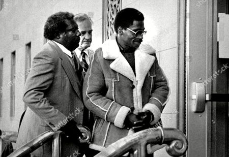"Stock Photo of Rubin 'hurricane' Carter Rubin ""Hurricane"" Carter, right, the former middleweight boxer, is escorted into federal court in Newark, N.J. Carter, who spent almost 20 years in jail after twice being convicted of a triple murder he denied committing, died at his home in Toronto, according to long-time friend and co-accused John Artis. He was 76"