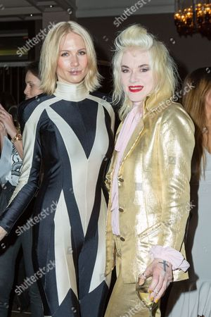 Tuuli Shipster and Pam Hogg