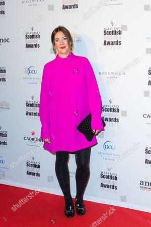 Editorial photo of Scottish Fashion Awards, London, UK - 21 Oct 2016