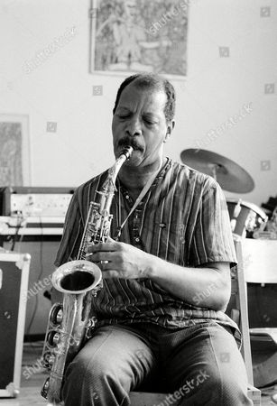 Coleman Saxophonist Ornette Coleman, pioneer of atonal free-form jazz, plays the saxophone in his lower Manhattan studio