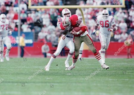 Editorial image of Patriots vs 49ers Football 1989, San Francisco, USA