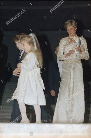 Editorial photo of Princess Diana, New York, USA